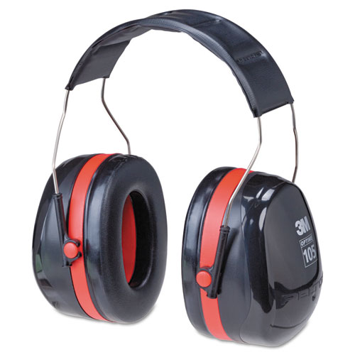 PELTOR OPTIME 105 High Performance Ear Muffs H10A. Picture 1