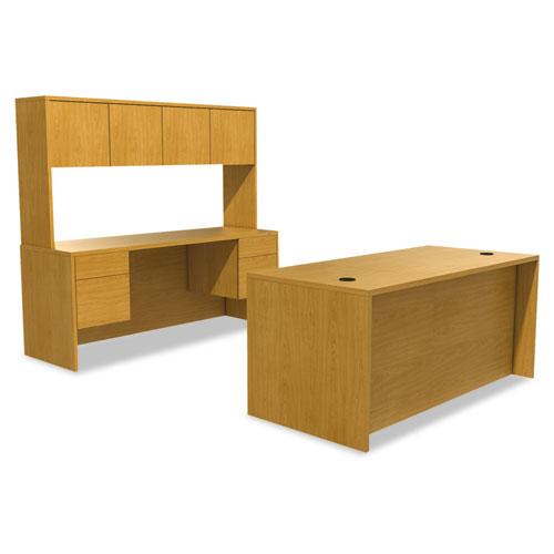"""10500 Series Double Pedestal Desk, 72"""" x 36"""" x 29.5"""", Harvest. Picture 3"""
