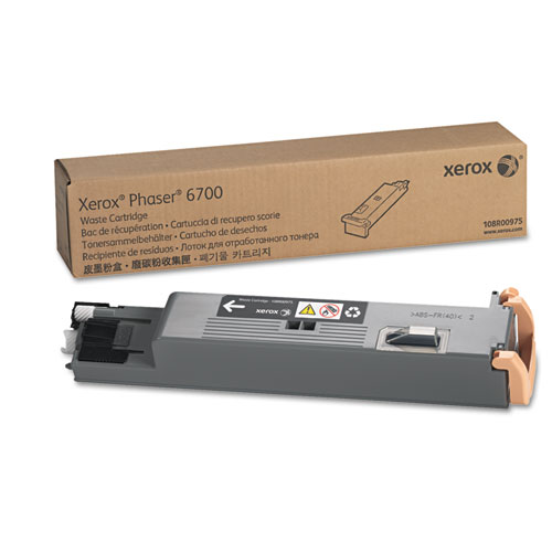 108R00975 Waste Toner Cartridge, 25000 Page-Yield. Picture 1