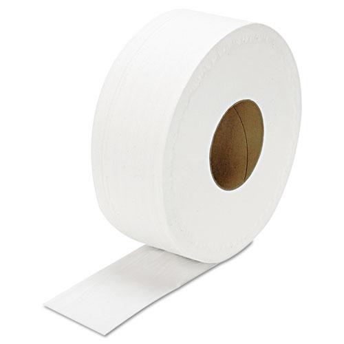 "JRT Jumbo Bath Tissue, Septic Safe, 2-Ply, White, 3.3"" x 1000 ft, 12/Carton. Picture 2"