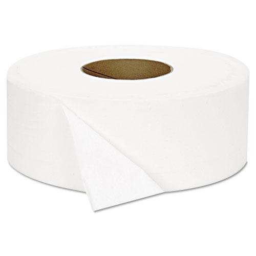 "JRT Jumbo Bath Tissue, Septic Safe, 2-Ply, White, 3.3"" x 1000 ft, 12/Carton. Picture 3"