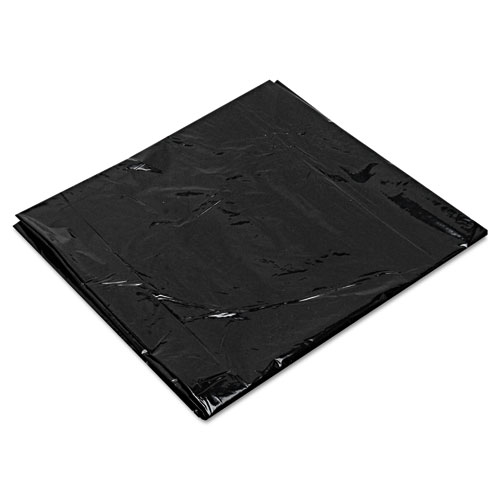 """Low-Density Can Liners, 16 gal, 0.7 mil, 24"""" x 32"""", Black, 500/Carton. Picture 2"""