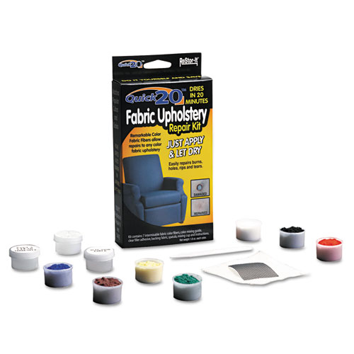 Restor It Quick 20 Fabric Upholstery Repair Kit