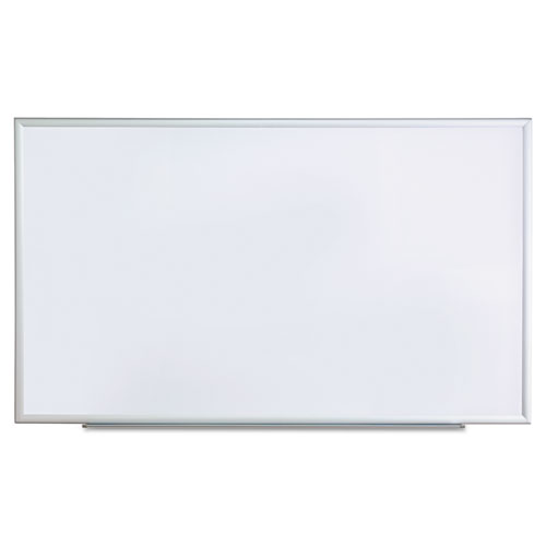 Dry Erase Board, Melamine, 60 x 36, Satin-Finished Aluminum Frame. Picture 1