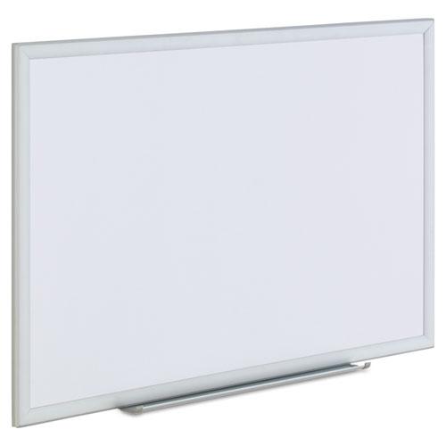 Dry Erase Board, Melamine, 36 x 24, Aluminum Frame. Picture 2