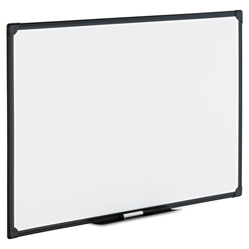 Dry Erase Board, Melamine, 36 x 24, Black Frame. Picture 2