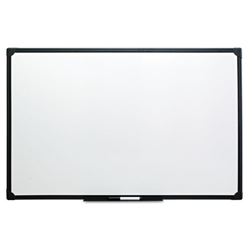 Dry Erase Board, Melamine, 36 x 24, Black Frame. Picture 1