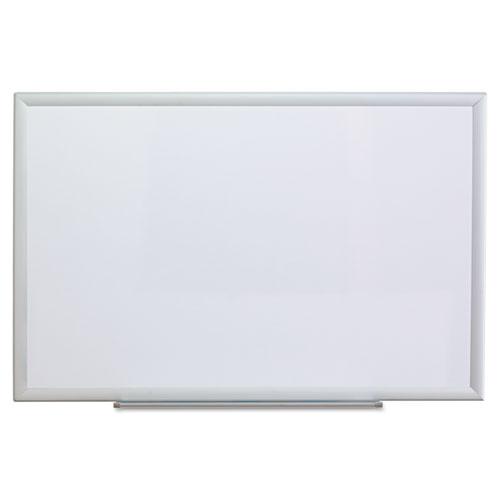 Dry Erase Board, Melamine, 36 x 24, Aluminum Frame. Picture 1