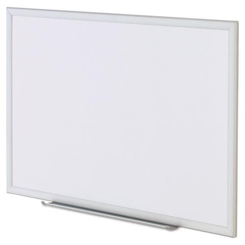 Dry Erase Board, Melamine, 36 x 24, Aluminum Frame. Picture 3