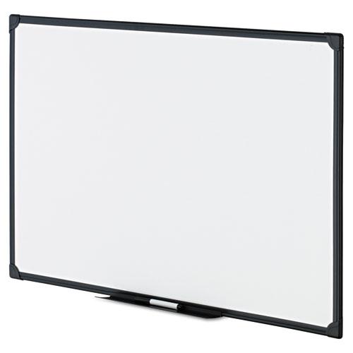 Dry Erase Board, Melamine, 36 x 24, Black Frame. Picture 3