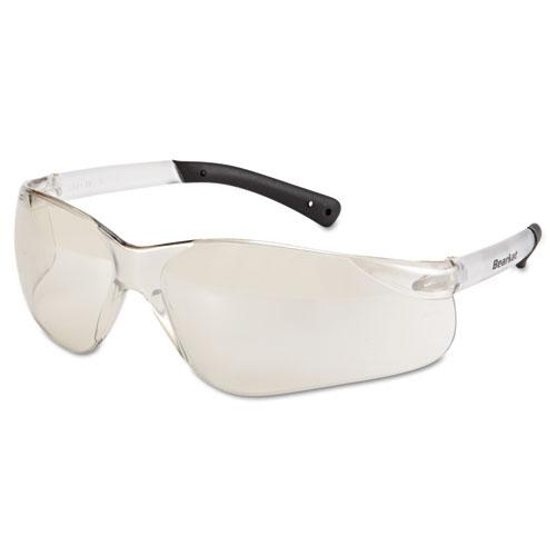 BearKat Safety Glasses, Frost Frame, Clear Mirror Lens. Picture 1