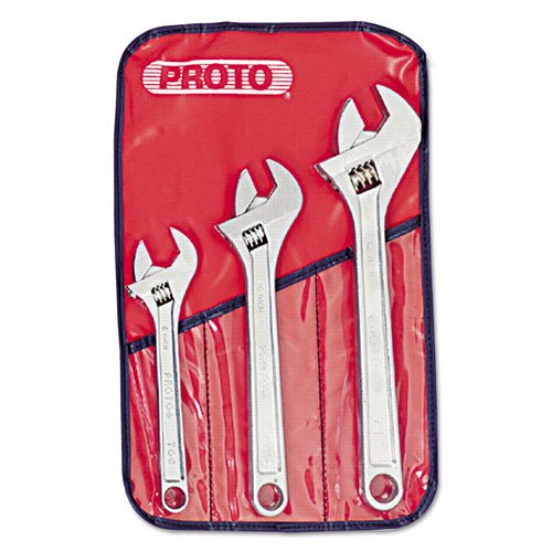 PROTO Three-Piece Adjustable Wrench Set. Picture 1