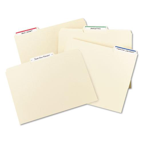 """Printable 4"""" x 6"""" - Permanent File Folder Labels, 0.69 x 3.44, White, 7/Sheet, 36 Sheets/Pack, (5200). Picture 5"""