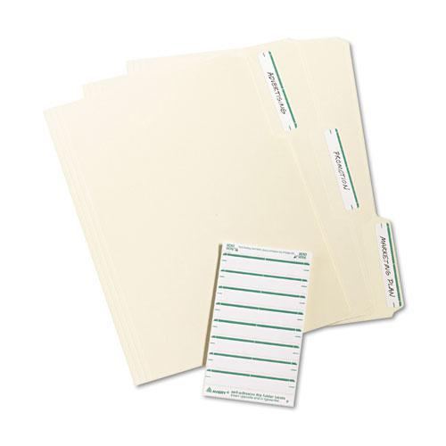 "Printable 4"" x 6"" - Permanent File Folder Labels, 0.69 x 3.44, White, 7/Sheet, 36 Sheets/Pack, (5203). Picture 3"