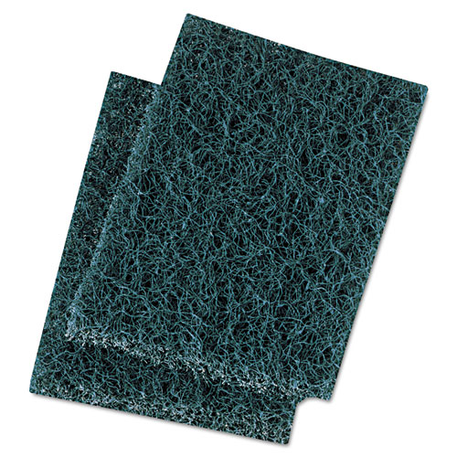 Extra Heavy-Duty Scour Pad, 3 1/2 x 5, Blue/Gray, 20/Carton. Picture 1