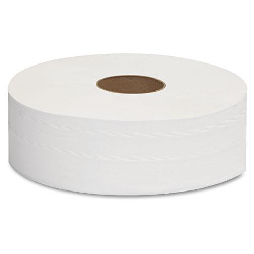 "JRT Jumbo Bath Tissue, Septic Safe, 2-Ply, White, 12"" Diameter, 1,378 ft Length, 6/Carton. Picture 3"