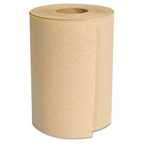 Hardwound Roll Towels, Kraft, 8 x 350'. Picture 2