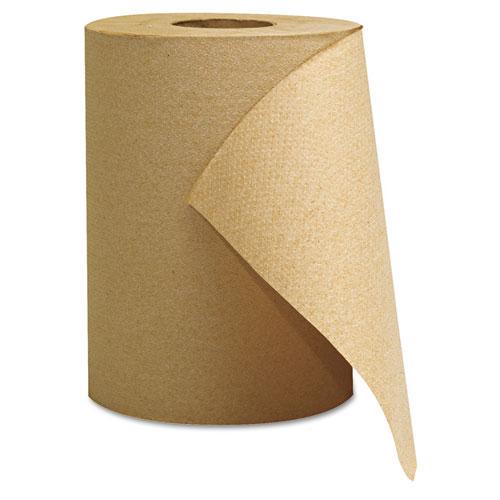 Hardwound Roll Towels, Kraft, 8 x 350'. Picture 1