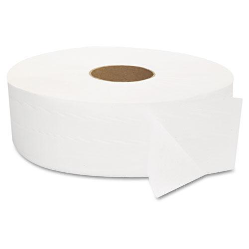 "JRT Jumbo Bath Tissue, Septic Safe, 2-Ply, White, 12"" Diameter, 1,378 ft Length, 6/Carton. Picture 5"