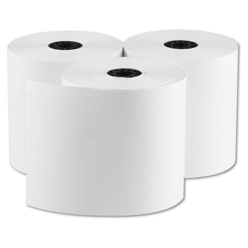 "RegistRolls Point-of-Sale Rolls, 3"" x 165 ft, White, 30/Carton. Picture 3"