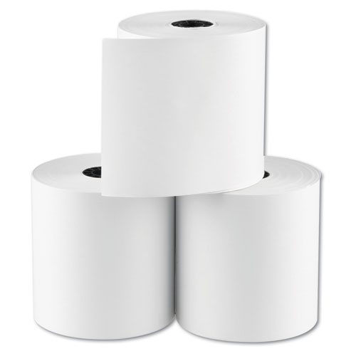 "RegistRolls Point-of-Sale Rolls, 3"" x 165 ft, White, 30/Carton. Picture 2"