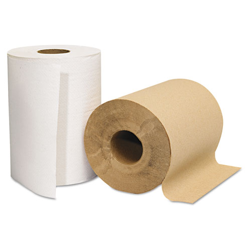 Hardwound Roll Towels, Kraft, 8 x 350'. Picture 3