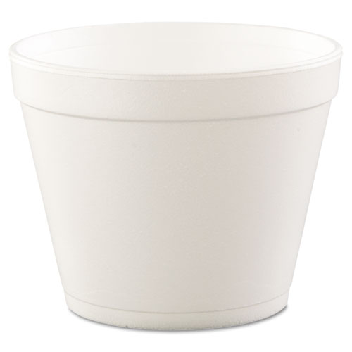 Foam Containers, Foam, 24oz, White, 25/Bag, 20 Bags/Carton. Picture 1