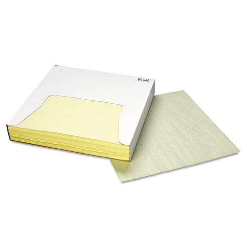 Grease-Resistant Wrap/Liner, 12 x 12, Yellow, 1000/Box, 5 Boxes/Carton. Picture 2