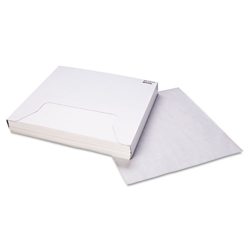 Grease-Resistant Paper Wraps and Liners, 15 x 16, White, 1000/Box, 3 Boxes/Carton. Picture 2