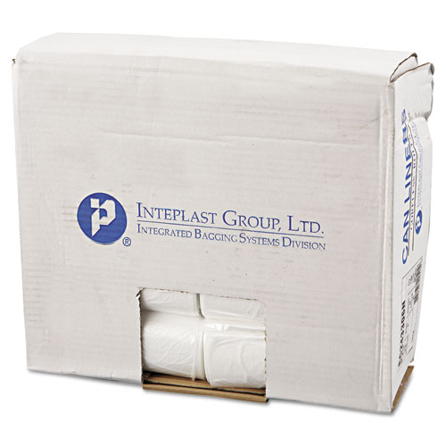 """High-Density Commercial Can Liners, 16 gal, 6 microns, 24"""" x 33"""", Natural, 1,000/Carton. Picture 1"""