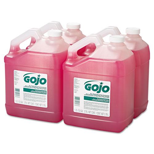 Bulk Pour All-Purpose Pink Lotion Soap, Floral, 1gal Bottle, 4/Carton. Picture 3
