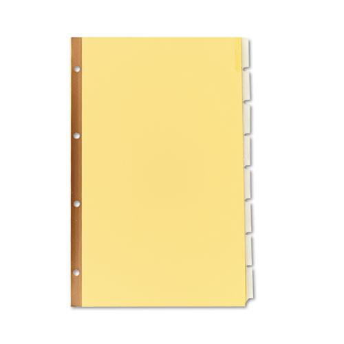 Insertable Standard Tab Dividers, 8-Tab, Legal. Picture 2