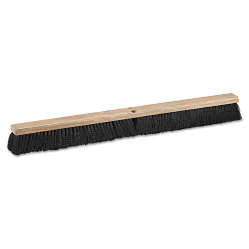"Floor Brush Head, 36"" Wide, Polypropylene Bristles. Picture 1"