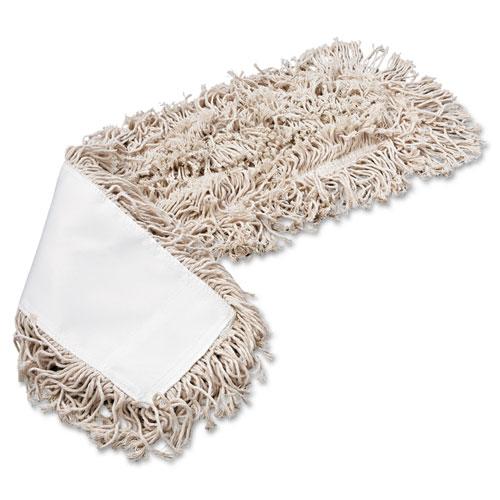 Mop Head, Dust, Cotton, 24 x 3, White. Picture 3