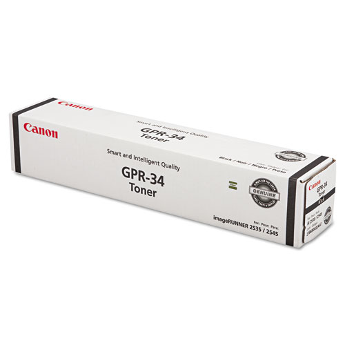 2786B003AA (GPR-34) Toner, 19,400 Page-Yield, Black. Picture 1