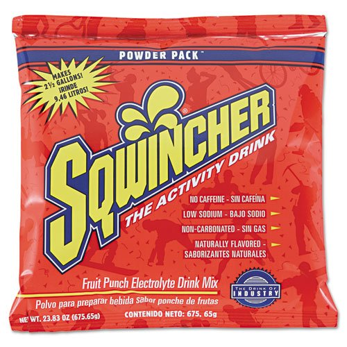 Powder Pack Concentrated Activity Drink, Fruit Punch, 23.83 oz Packet, 32/Carton. Picture 1
