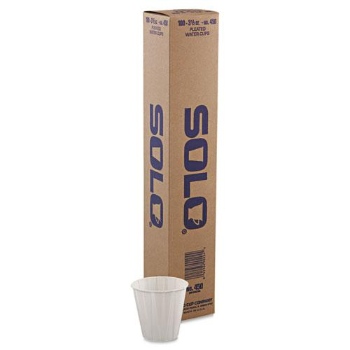 Paper Medical & Dental Treated Cups, 3.5oz, White, 100/Bag, 50 Bags/Carton. Picture 2