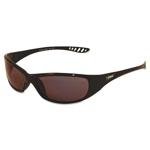 V40 HellRaiser Safety Glasses, Black Frame, Photochromic Light-Adaptive Lens. Picture 1