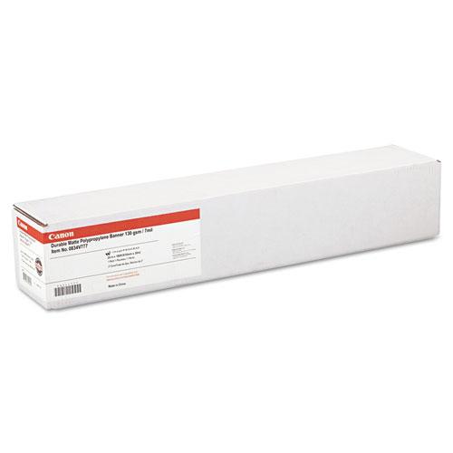 """Durable Matte Polypropylene Banner Paper, 24"""" x 100 feet, Roll. Picture 1"""