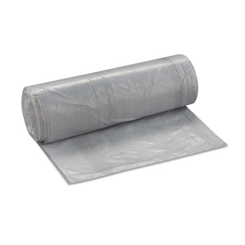 """Low-Density Commercial Can Liners, 30 gal, 0.58 mil, 30"""" x 36"""", Clear, 250/Carton. Picture 2"""