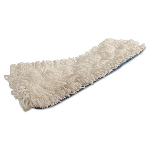 "Flow Flat Mop, Nylon, 18"", White,. Picture 2"