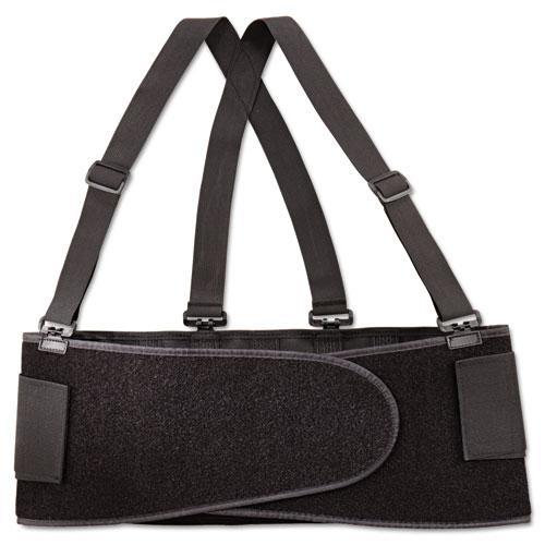 Economy Back Support Belt, X-Large, Black. Picture 1