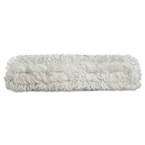"Flow Flat Mop, Nylon, 18"", White,. Picture 3"