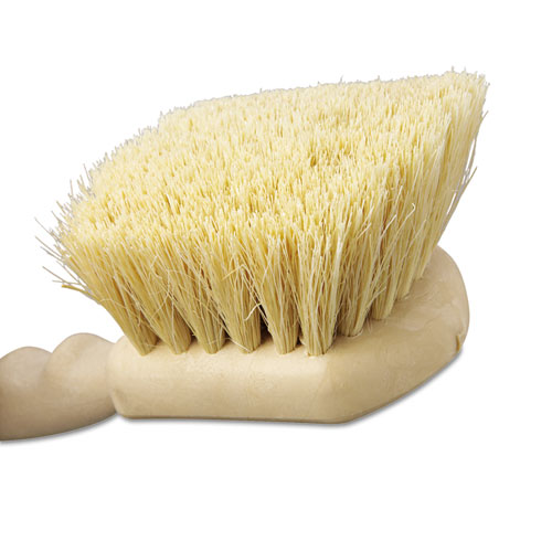 "Utility Brush, Tampico Fill, 8 1/2"" Long, Tan Handle. Picture 2"