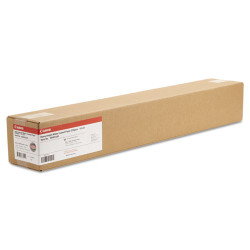 """Heavyweight Matte Coated Paper Roll, 2"""" Core, 10 mil, 36"""" x 100 ft, Matte White. Picture 3"""