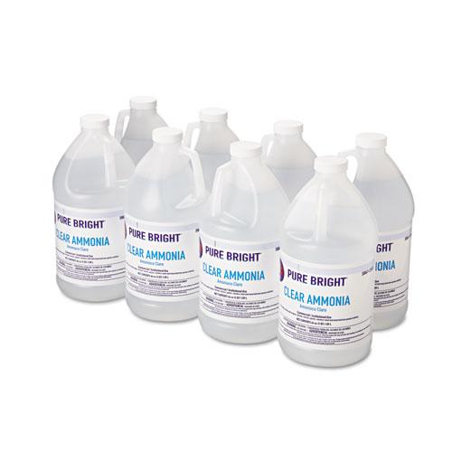 Clear Ammonia, 64 oz Bottle, 8/Carton. Picture 3