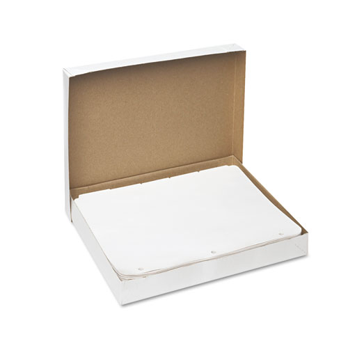 Write and Erase Plain-Tab Paper Dividers, 5-Tab, Letter, White, 36 Sets. Picture 2