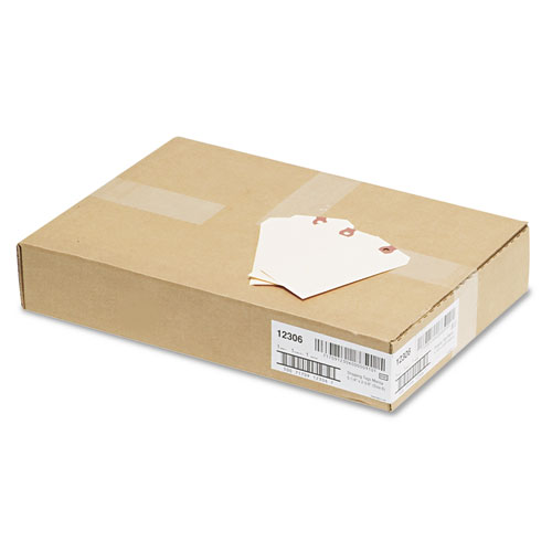 Unstrung Shipping Tags, 11.5 pt. Stock, 5.25 x 2.63, Manila, 1,000/Box. Picture 3