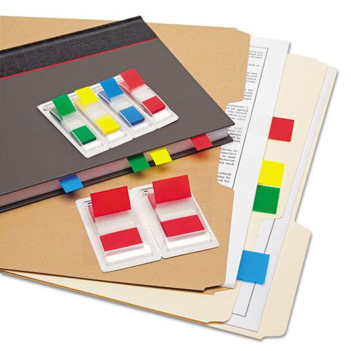 Page Flags, Assorted Colors, 35 Flags/Dispenser, 4 Dispensers/Pack. Picture 3