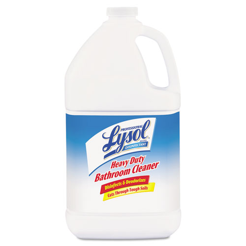 Disinfectant Heavy-Duty Bathroom Cleaner Concentrate, Lime, 1 gal Bottle. Picture 1